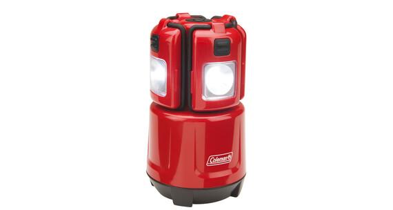 Coleman LED Micro Quad Campingbelysning LED rød